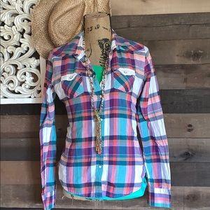 Wetsern style flannel